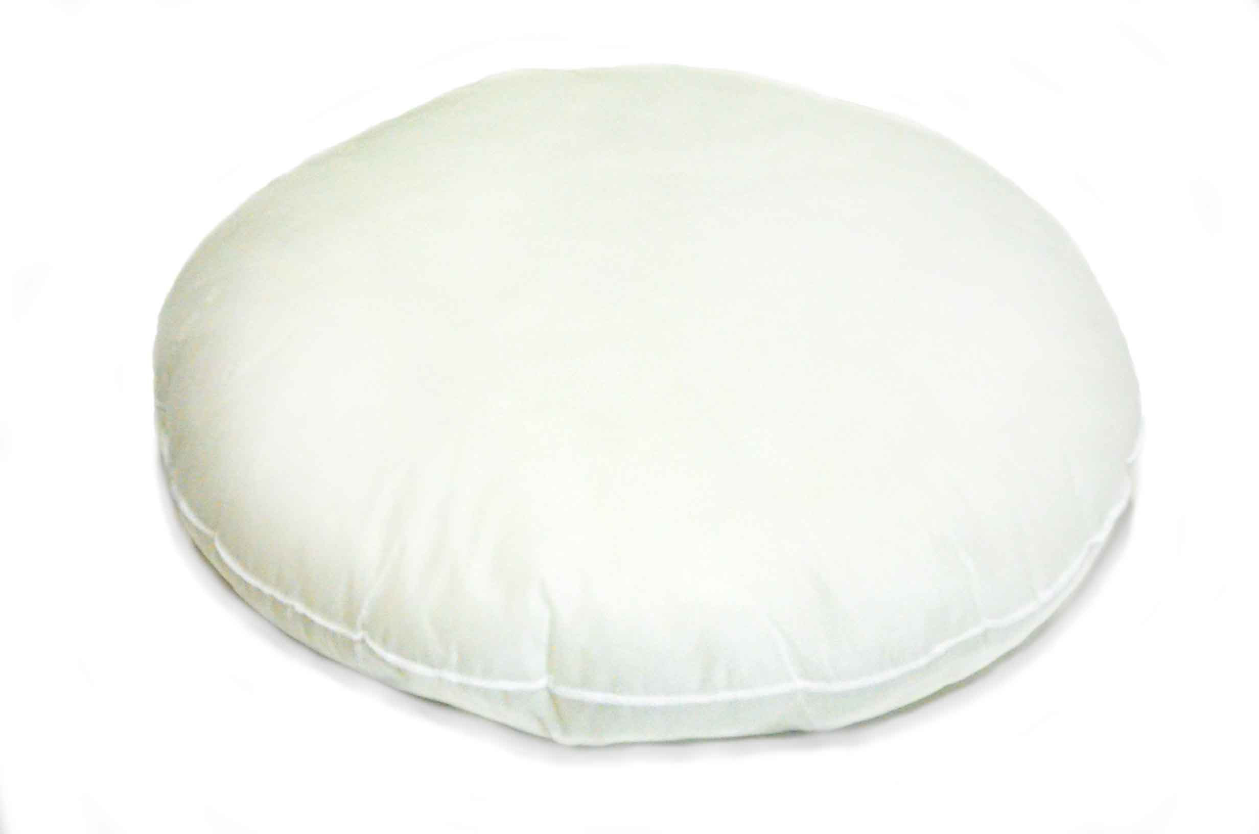 Pillow Inserts :: Custom Round Polyester Inserts /w Non-woven Outside Fabric - Pillows Xpress ...